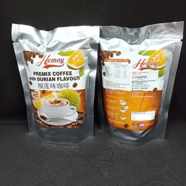 Coffee campuran serbuk perasa durian - kugpis.my