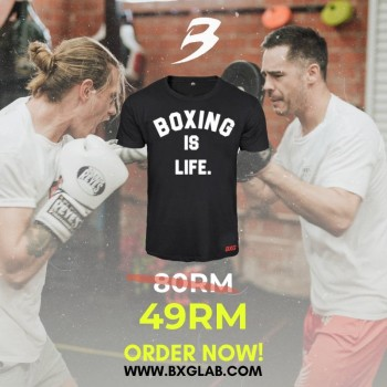 BOXING IS LIFE T - BXGLAB