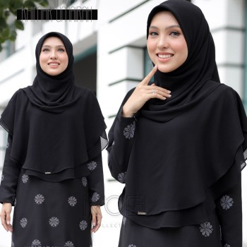 KHIMAR UMAIRA NAVY BLUE - moff collection