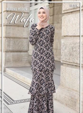 KURUNG WAFA BLACK - moff collection