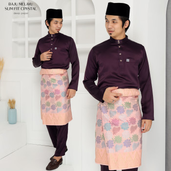 SLIM FIT CRYSTAL DARK PURPLE - moff collection