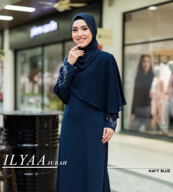 JUBAH ILYAA GREY - moff collection