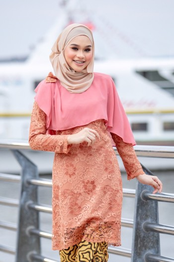 KURUNG SWEET YANA ORANGE