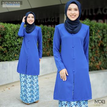 Kurung Oxalis In Royal Blue