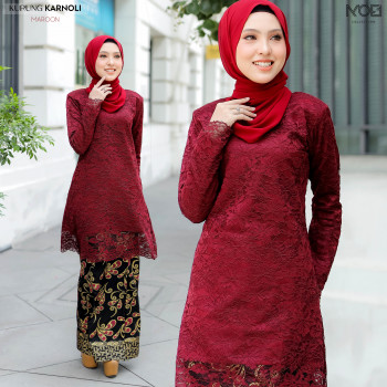 KURUNG KARNOLI MAROON - moff collection