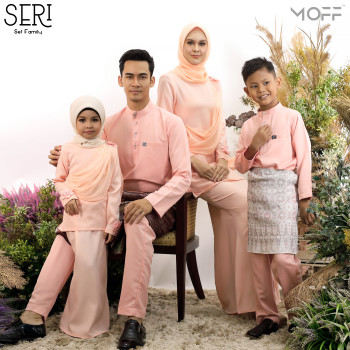 KURUNG SERI PEACH - moff collection
