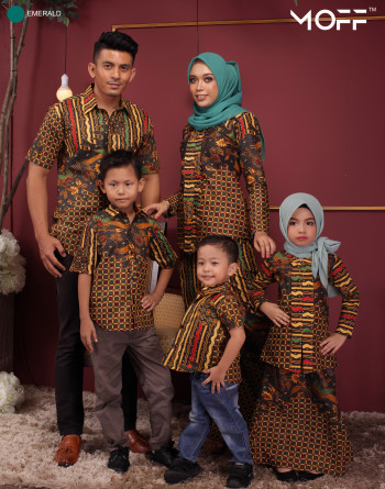 KEBAYA KASAWARI MUSTARD - moff collection