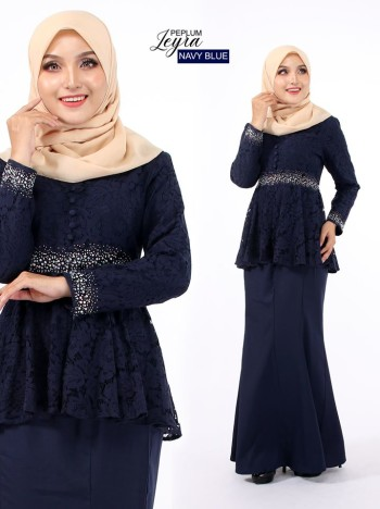 PEPLUM LEYRA DARK PURPLE - moff collection