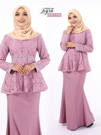 PEPLUM LEYRA DUSTY PINK - moff collection