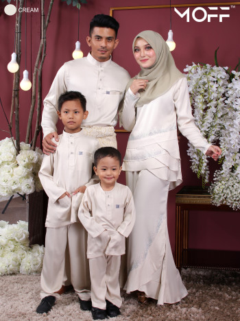 KURUNG GALAU CREAM - moff collection