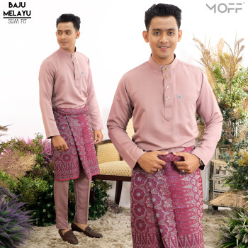 SLIM FIT DARK PURPLE - moff collection