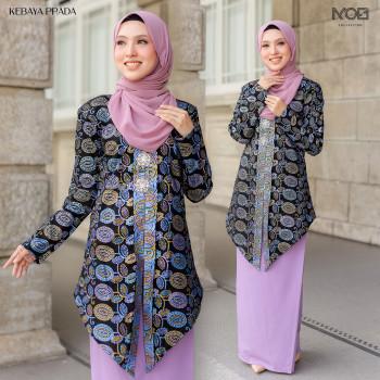 Prada Kebaya In Purple