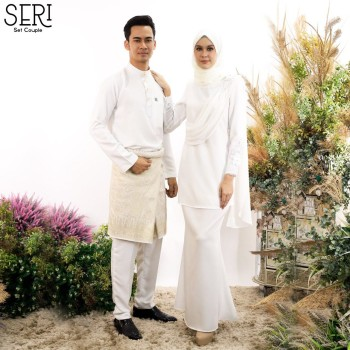 KURUNG SERI WHITE - moff collection