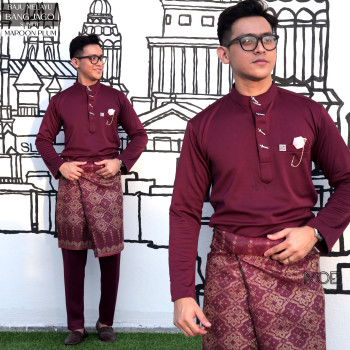 Bang Jago In Maroon Plum - moff collection
