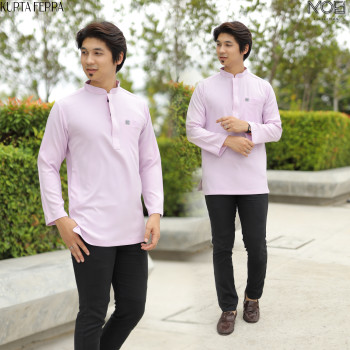 KURTA FERRA DARK PURPLE - moff collection