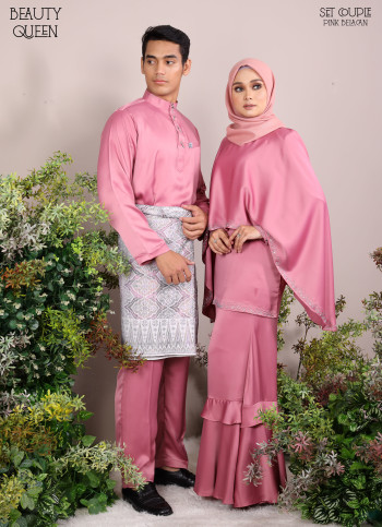 KURUNG BEAUTY QUEEN HOT PINK - moff collection