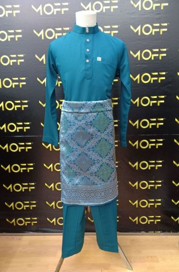 SLIM FIT TEAL BLUE - moff collection