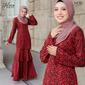 KURUNG JELEESA PINK - moff collection