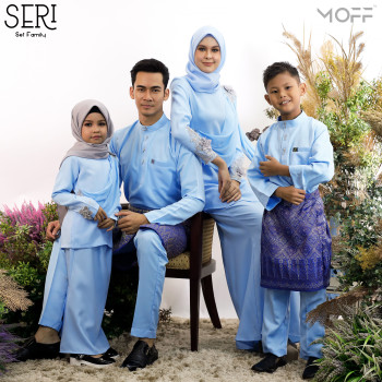 KURUNG SERI BABY BLUE - moff collection