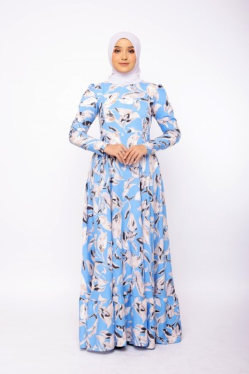 Feodora In Denim Blue - moff collection