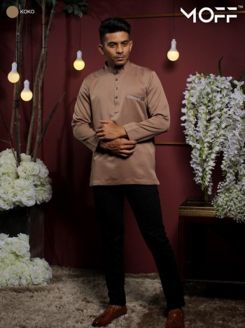 KURTA RAYYAN DUSTY PURPLE - moff collection