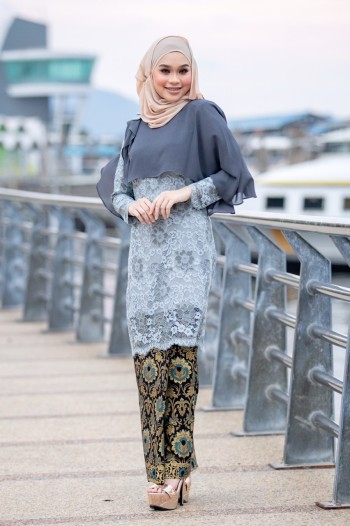 KURUNG SWEET YANA GREY