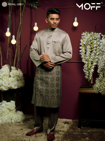 BAJU MELAYU DEEP PURPLE - moff collection