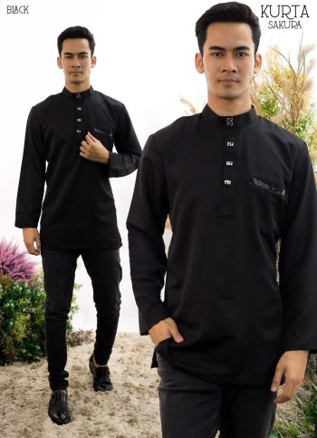 KURTA RAYYAN PINE GREEN - moff collection