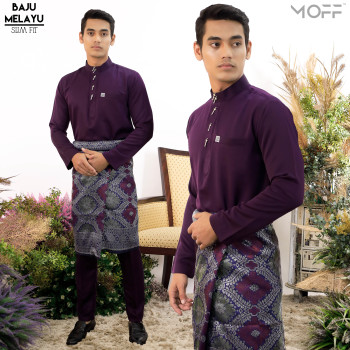 SLIM FIT  DUSTY PURPLE - moff collection