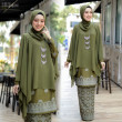 KURUNG QUEEN OLIVE - moff collection