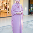 JUBAH RATU ARAB-LIGHT PURPLE - moff collection