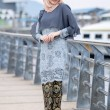 KURUNG SWEET YANA GREY - moff collection