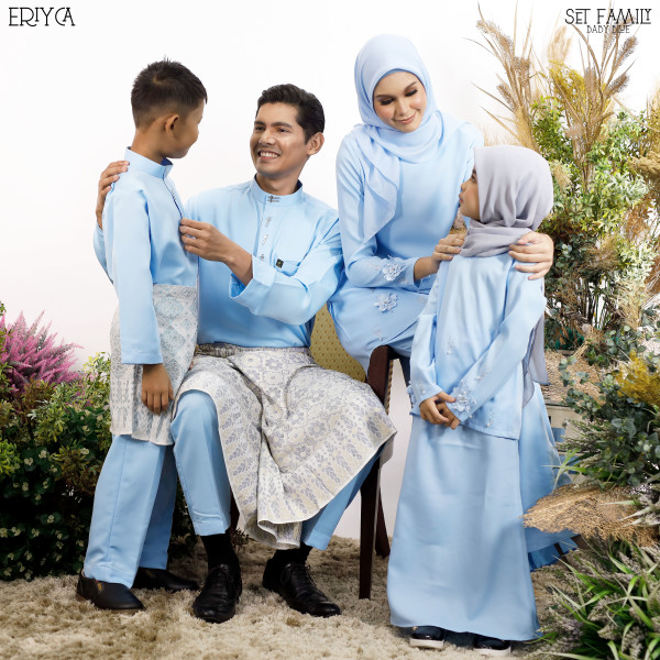 KURUNG ERIYCA BABY BLUE - moff collection
