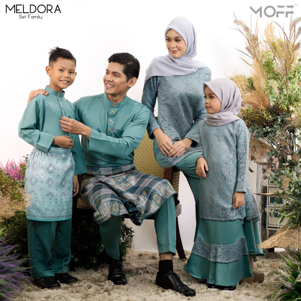KURUNG MELDORA PINE GREEN - moff collection