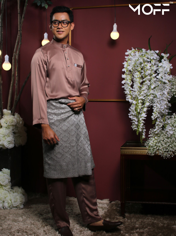 BAJU MELAYU BROWN - moff collection