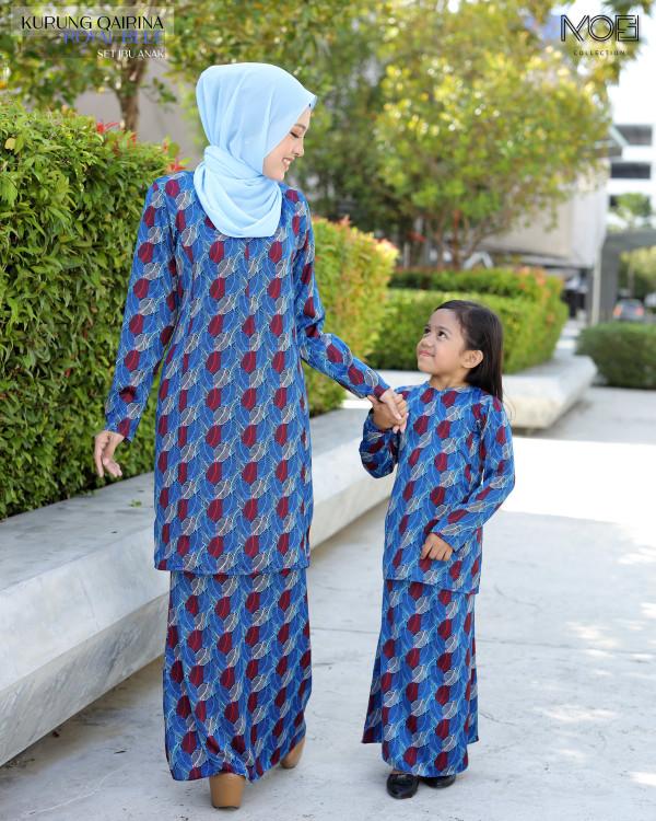 QAIRINA BUDAK ROYAL BLUE - moff collection