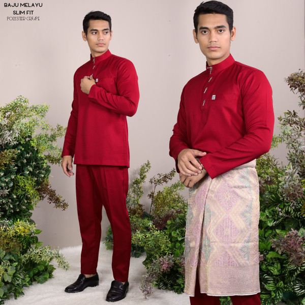 SLIM FIT MAROON - moff collection
