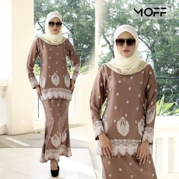 KURUNG SAREE SONIA BROWN - moff collection