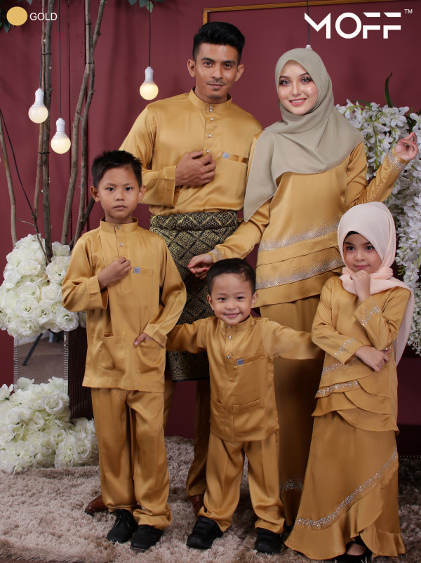 KURUNG GALAU GOLD   - moff collection