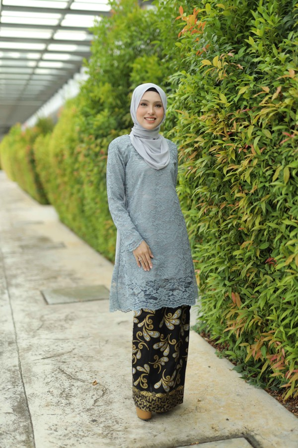 KURUNG KARNOLI GREY - moff collection