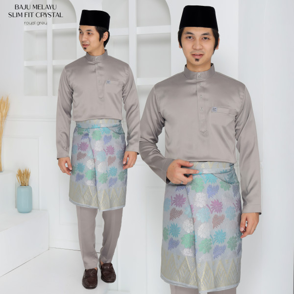 SLIM FIT CRYSTAL GREY - moff collection