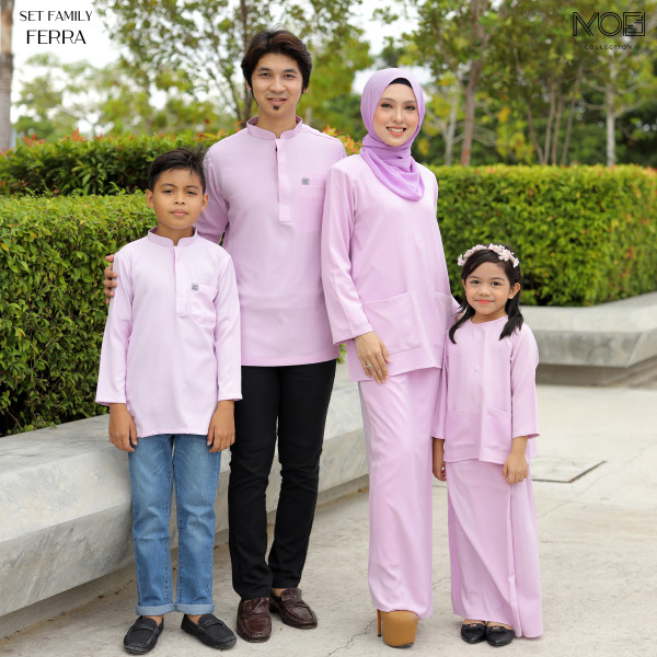 KURUNG KEDAH FERRA LILAC - moff collection