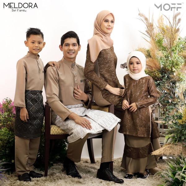 KURUNG MELDORA COKLAT - moff collection