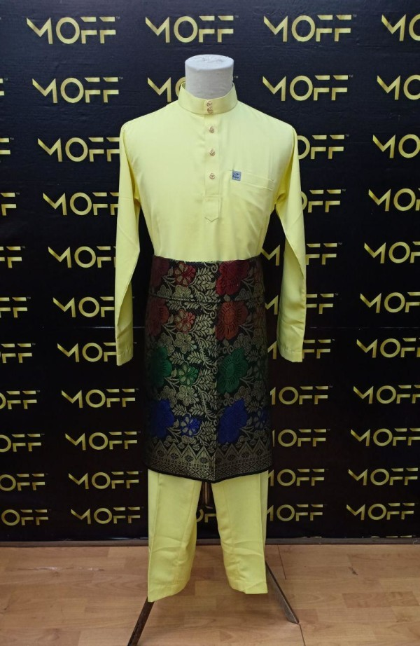 SLIM FIT SOFT YELLOW - moff collection