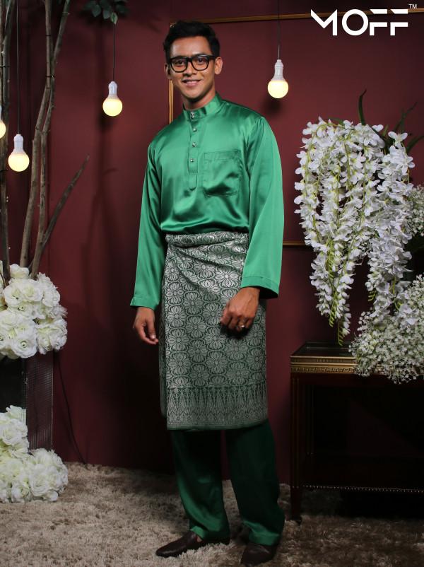 BAJU MELAYU GREEN - moff collection
