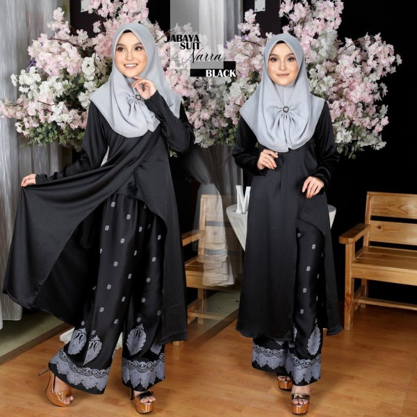 ABAYA SUIT NARRA BLACK - moff collection