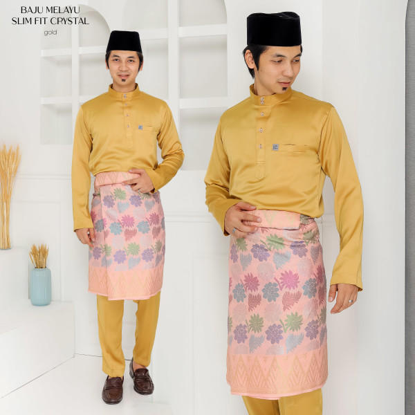SLIM FIT CRYSTAL GOLD - moff collection