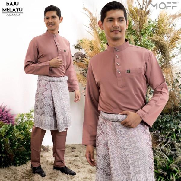 BAJU MELAYU MODEN ROSE GOLD - moff collection