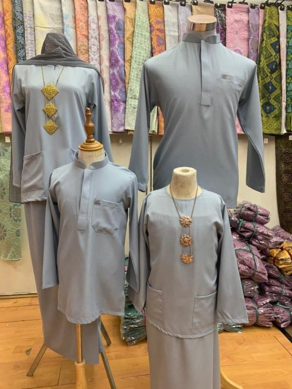 KURUNG KEDAH FERRA GREY - moff collection