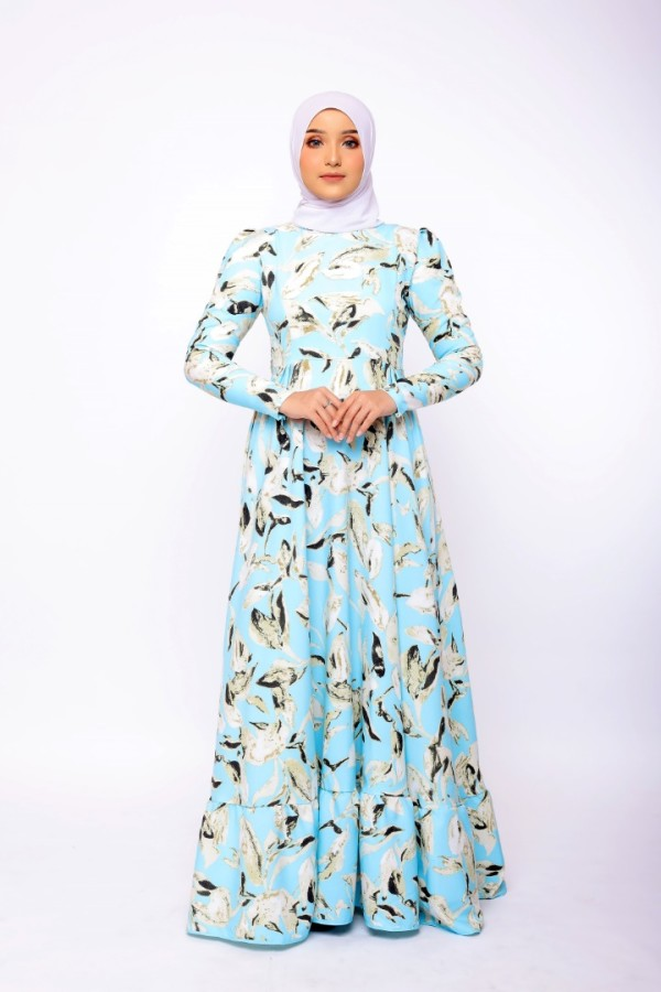 Feodora In Sky Blue - moff collection